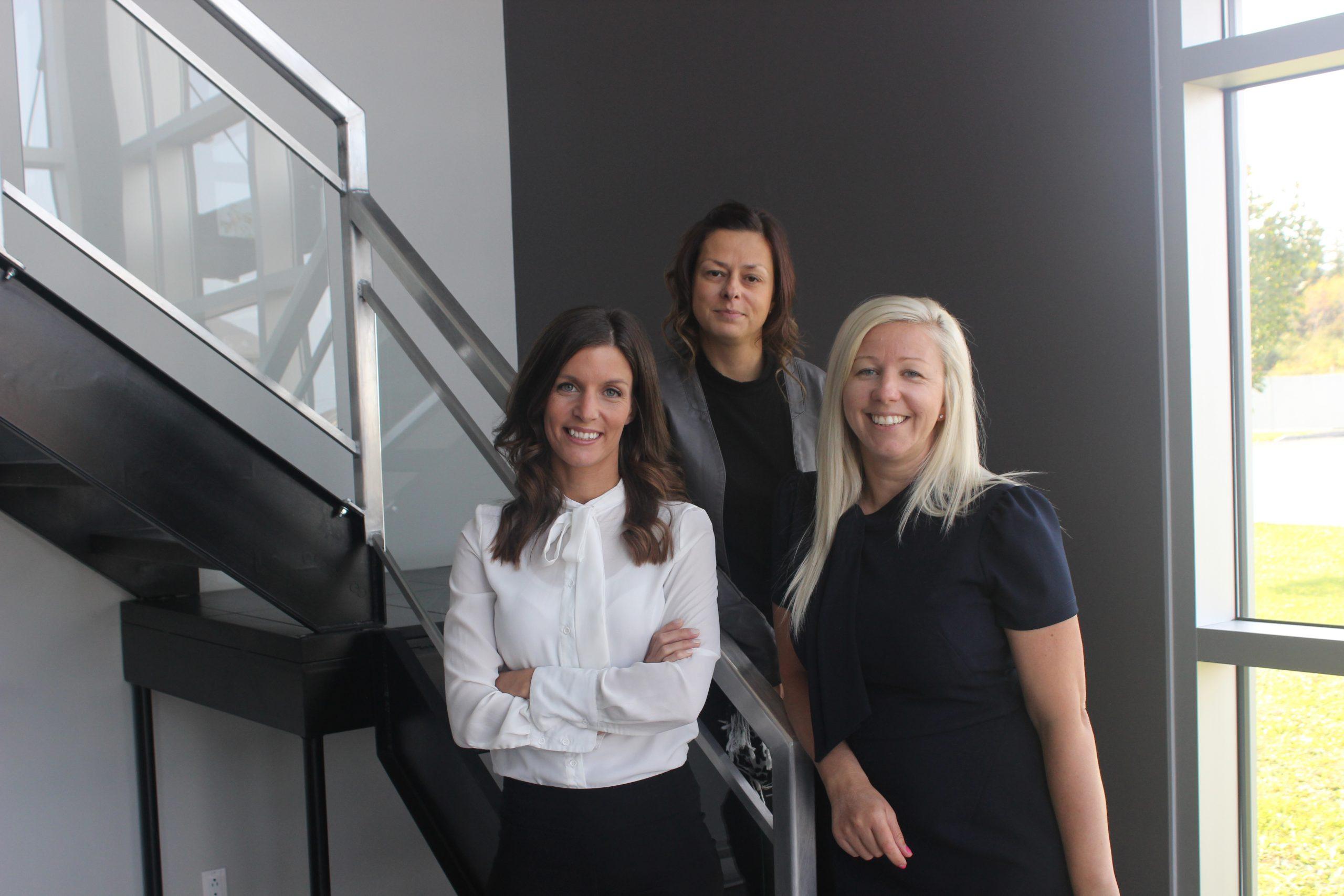 Un trio féminin désormais à la tête de Perron Télécom Perron Télécom